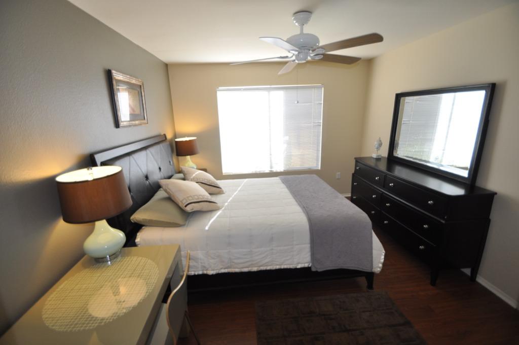 Scottsdale Condo Remodel 1 Master Bedroom